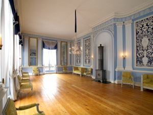 De Blauwe Kamer in het Hodshon Huis.